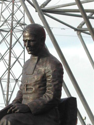 Brother Walfrid at Celtic Park