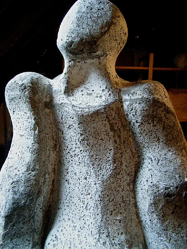 Dorothy Dick Sculpture (detail)